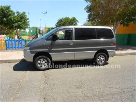 TABLÓN DE ANUNCIOS   Vendo furgoneta 4x4