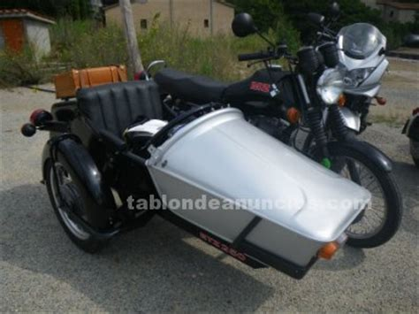 TABLÓN DE ANUNCIOS   Vendo moto con sidecar, Motos segunda ...
