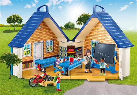 Take Along School House   5662   PLAYMOBIL USA