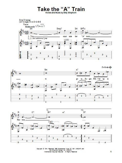 Take The  A  Train by Duke Ellington   Solo Guitar ...