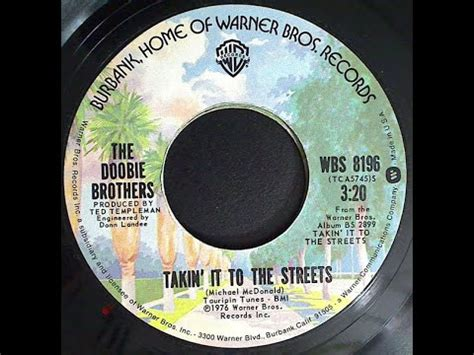 TAKIN  IT TO THE STREETS   The Doobie Brothers  1976 ...