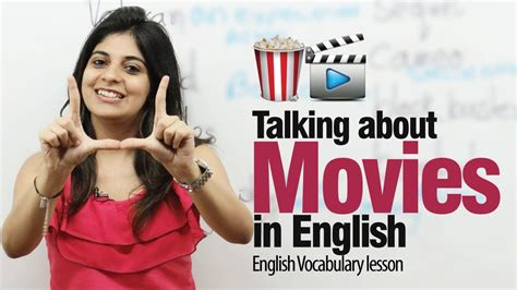Talking about movies in English   Free Spoken English ...