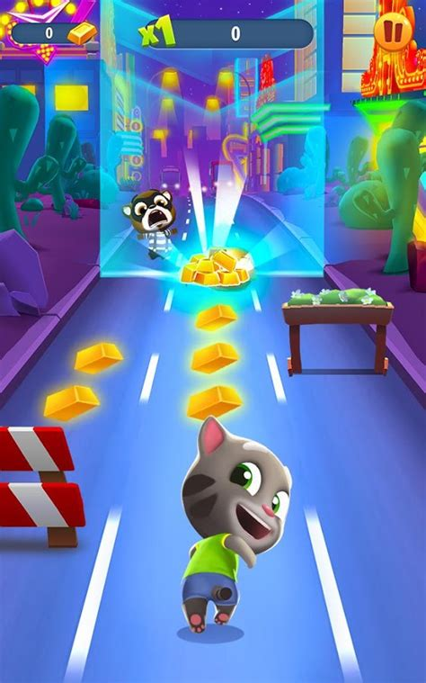 Talking Tom Gold Run 3D Game   Android Apps on Google Play