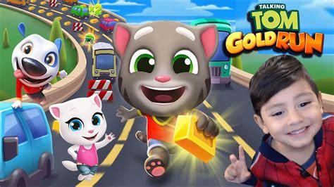 Talking Tom Gold Run Gameplay | Carrera por el Oro ...