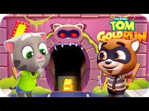 Talking Tom Gold Run   Juegos Para Niños Pequeños   Tom ...