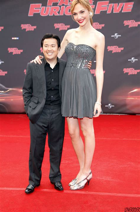 Tall Gal Gadot and Justin Lin by lowerrider on DeviantArt