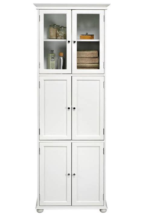 Tall White Bathroom Storage Cabinet   Home Furniture Design