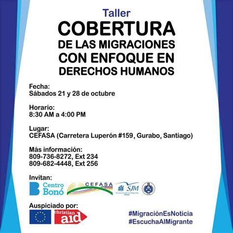 Taller:  Cobertura de las Migraciones con Enfoque en ...
