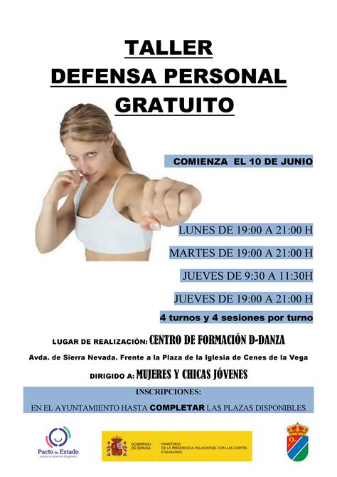 Taller de defensa personal | Ayuntamiento de Cenes de la ...