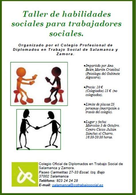 TALLER DE HABILIDADES SOCIALES PARA TRABAJADORES SOCIALES ...