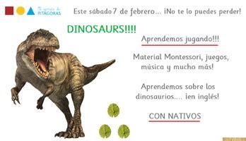 Taller en inglés sobre los dinosaurios   El Balcón de Mateo