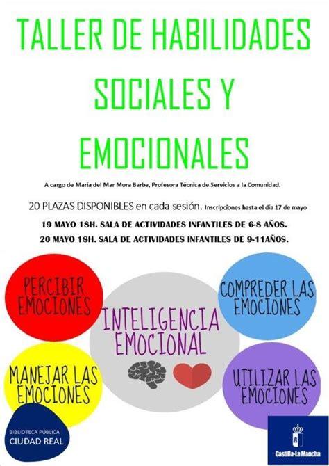 Taller  Habilidades sociales y emocionales    Agenda ...