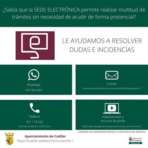 Talleres Online sobre uso de sede electrónica de los ...