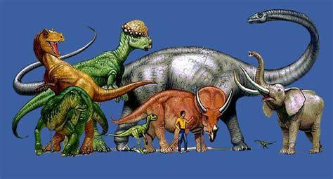 tamaño dinosaurios comparacion con hombre educacion ...
