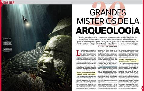 Tapas de Ciencia: 20 grandes misterios de la arqueología