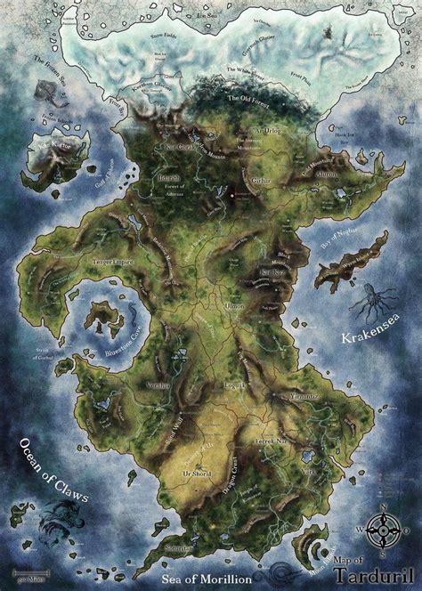 Tarduril by ~markus4 on deviantART | Fantasy world map ...