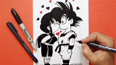 Tarjeta Amor San valentin Dragon Ball│ love card San ...