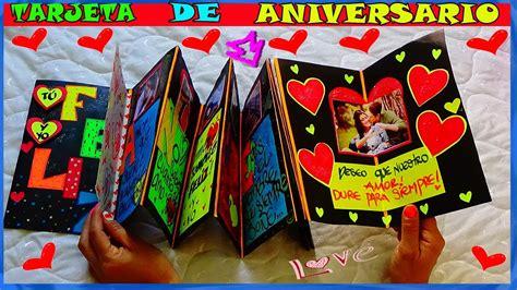 Tarjeta de Aniversario   Anniversary Card   Creaciones ...
