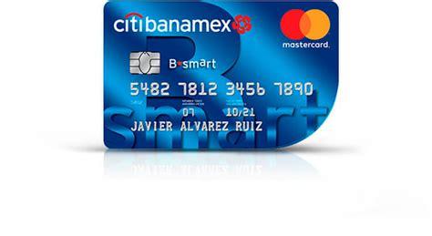 Tarjeta de Crédito B•smart Citibanamex Mastercard ...
