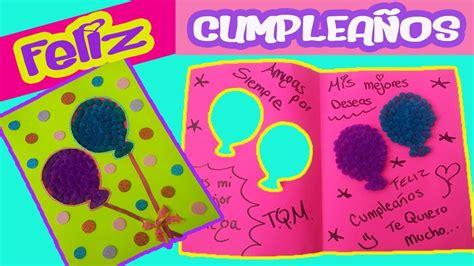 Tarjeta de cumpleaños // Carta para tu amiga // Carta de ...