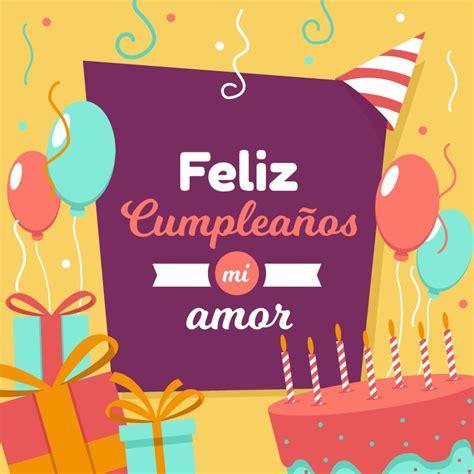tarjeta de cumpleaños mi amor | Imagen feliz cumpleaños ...