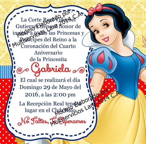 Tarjeta De Invitaciones Infantiles Cumpleaños Digitales ...