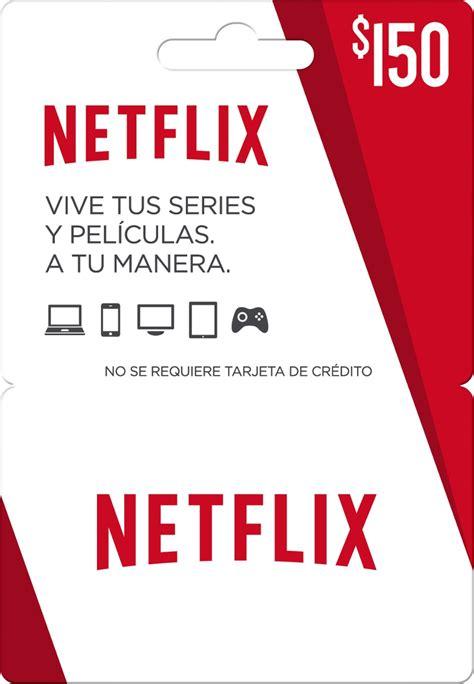 Tarjeta De Regalo Netflix 150   $ 200.00 en Mercado Libre