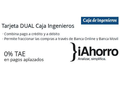 Tarjeta DUAL Caja Ingenieros de Caja de Ingenieros | iAhorro