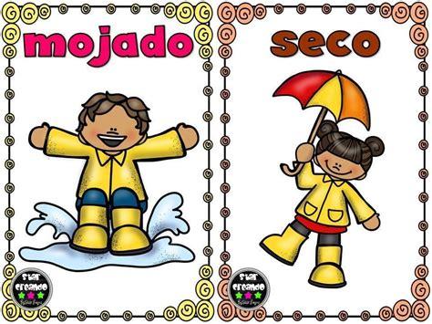Tarjetas Antónimos  12 | Opuestos para niños, Opuestos ...