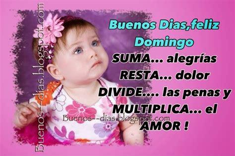 Tarjetas De Buenos Dias : Buena días feliz domingo amig@s