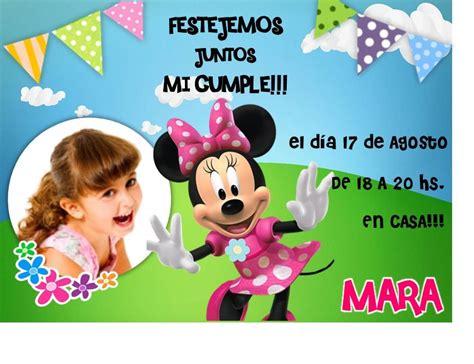 Tarjetas De Invitacion A Cumpleaños Infantiles Gratis Para ...