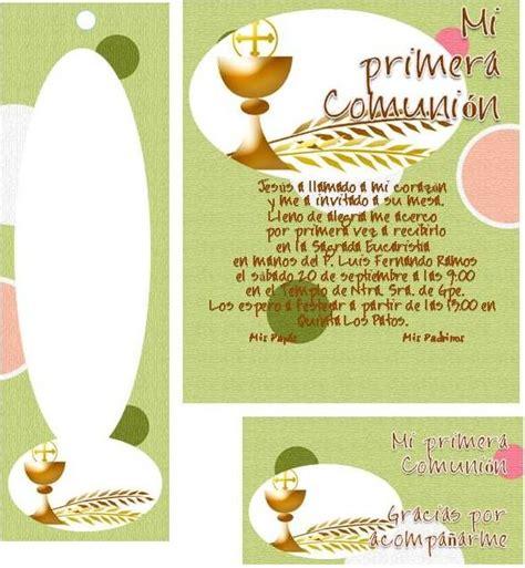 Tarjetas gratis de primera comunión para imprimir   Imagui ...