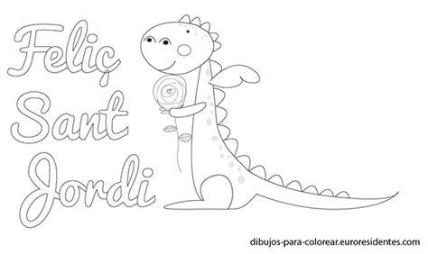 Tarjetas y dibujos de Sant Jordi para imprimir   Manualidades