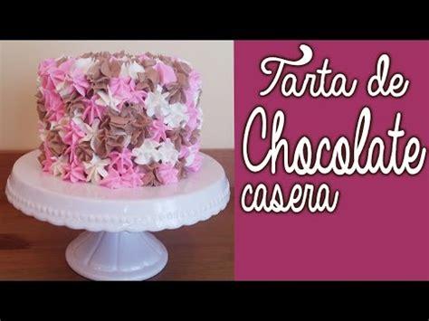 Tarta casera de chocolate :: Recetas de pasteles caseros ...