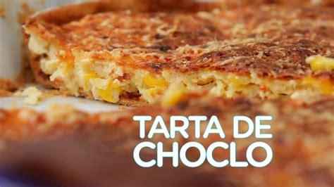 TARTA DE CHOCLO FACIL   RECETA SIMPLE COCINA RAPIDA   YouTube