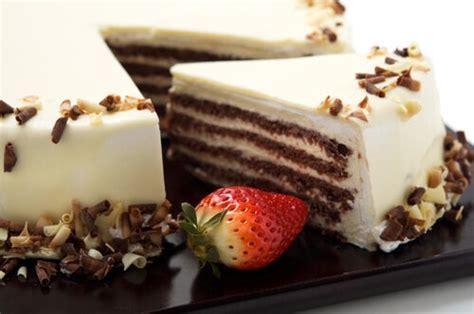 Tarta de chocolate blanco sin horno — Mejor con Salud
