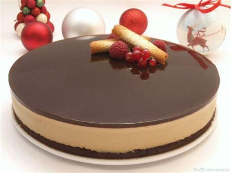 Tarta de chocolate blanco y crema de orujo   Recetas ...