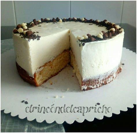 Tarta de chocolate blanco y galletas sin horno | Tarta de ...