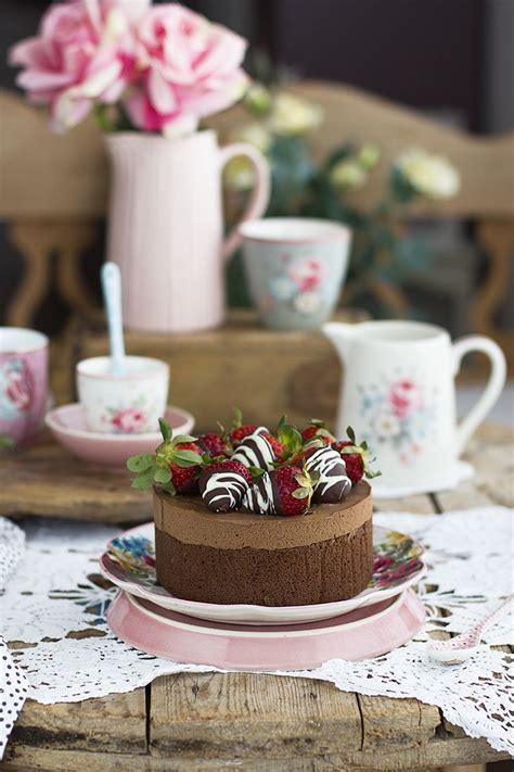 Tarta de Chocolate con 2 ingredientes saludable y sencilla ...
