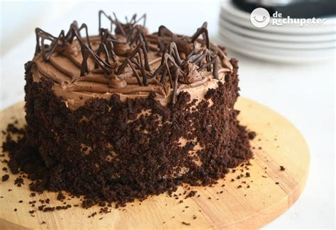 Tarta de chocolate para Halloween   Recetas de rechupete ...