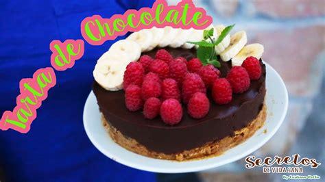 Tarta de Chocolate, Plátano y Frambuesas   Eva Arguiñano ...