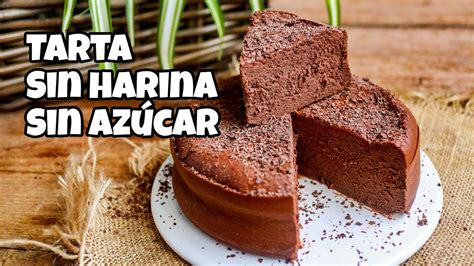 Tarta de Chocolate SIN AZÚCAR, KETO, SIN HARINA, SIN ...