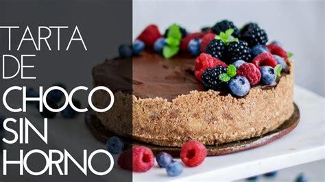 Tarta de chocolate sin horno | CON SOLO 5 INGREDIENTES ...