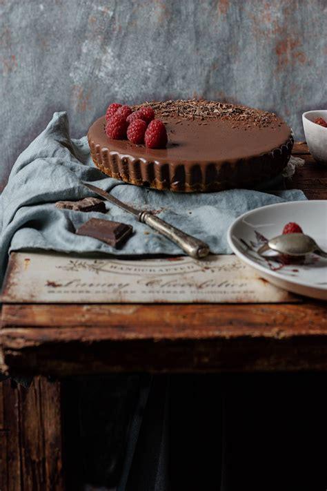 Tarta de chocolate SIN HORNO | Receta de tarta de ...