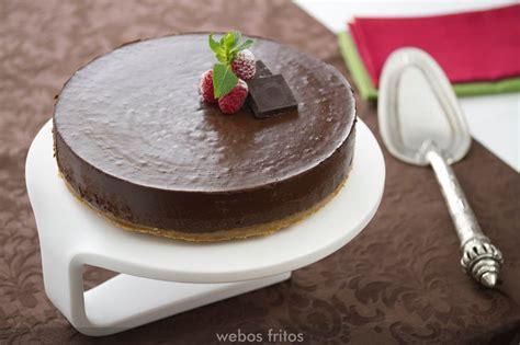 Tarta de chocolate sin horno | webos fritos