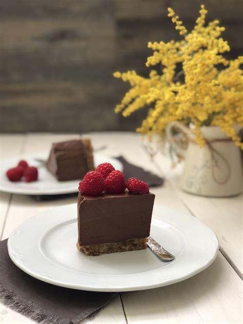 Tarta de chocolate sin lácteos, sin azúcar y sin gluten ...