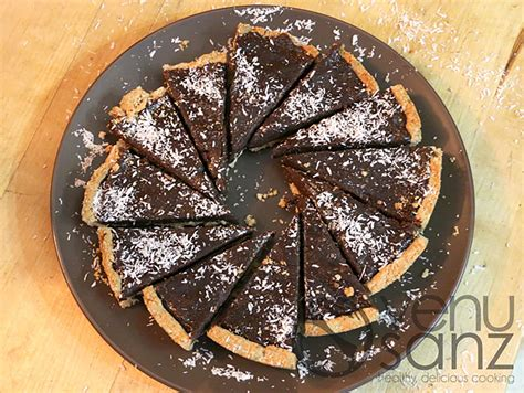 Tarta de chocolate  SIN : vegana, sin gluten y sin azúcar ...