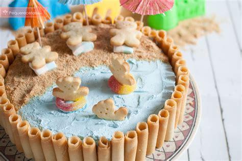 Tarta de cumpleaños fácil y divertida para niños ...