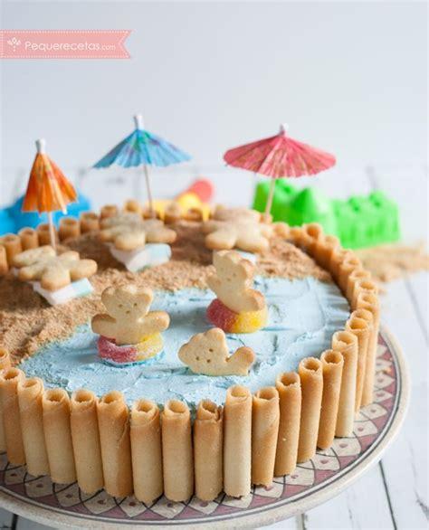 Tarta de cumpleaños fácil y divertida para niños | Tartas ...