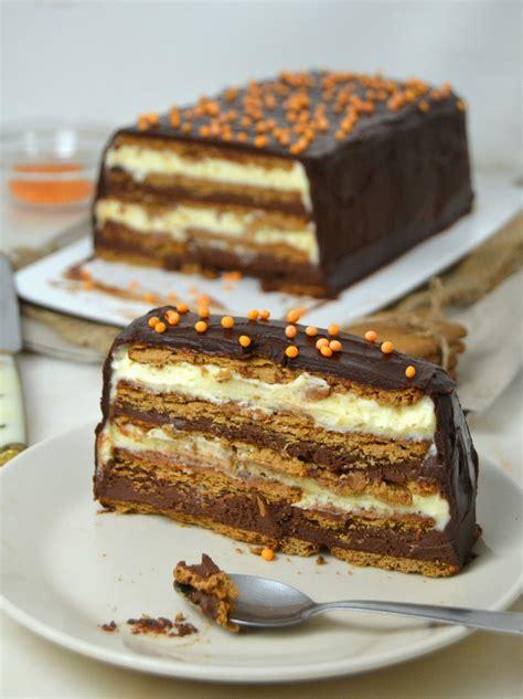 Tarta de dos chocolates con galletas ¡Sin horno! | Cuuking ...